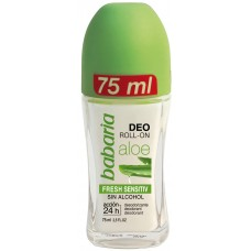 BABARIA ALOE VERA FRESH SENSITIVE  rutulinis dezodorantas 75ml...