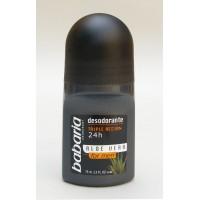 Babaria Aloe Vera Men's 24hr rutulinis dezodorantas vyr..