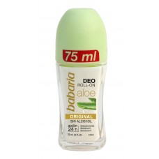 Babaria Aloe Vera - alijošiaus ekstrakto rutulinis dezodorantas.  75ml...