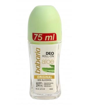 Babaria Aloe Vera - alijošiaus ekstrakto rutulinis dezodorantas.  75ml