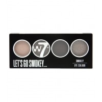 W7 - LET'S GO SMOKEY - SMOKEY EYE COLOR PALETTE akių šešėliai...