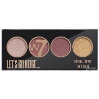 W7 - LET'S GO BEIGE ... - NATURAL NUDES EYE COLOR PALETTE akių šešėlia...