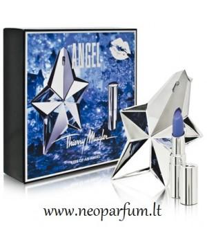 Thierry Mugler - Angel purškiamas kvapusis vanduo moterims plius lūpdažis