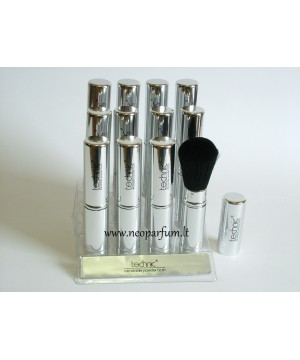 Technic retractable powder brush - Ištraukiamas kosmetinis pudros šepetukas