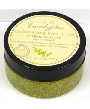 """Jean Philippe Apothecary - """"Eucalyptus Exfoliating Body Scrub"""" kūno šveitiklis su eukaliptų ekstraktu 170g"""