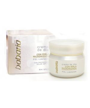 Babaria - Day Cream With Micronized Pearl. Dieninis veido kremas su mikronizuotais perlais. 50  ml