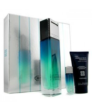 Givenchy - Very Irresistible Fresh Attitud purškiamas tualetinis vanduo vyrams 100 ml + energizuojanti dušo želė 50 ml + miniatiūra 4 ml